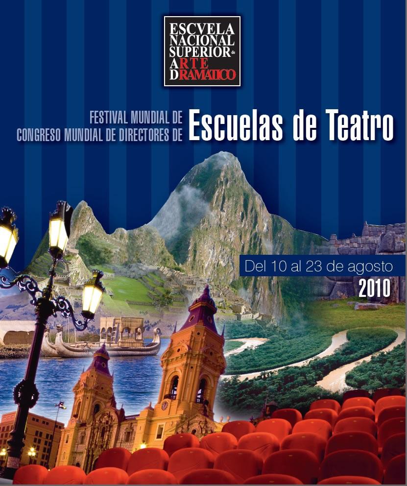 Festival Mundial de Escuelas de Teatro ENSAD 2010